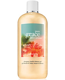 philosophy Pure Grace Endless Summer Shampoo, Bath & Shower Gel, 16-oz.