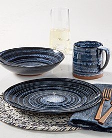 Blue Wash Dinnerware Collection, Created for Macy's