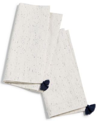 Ivory Tassel Napkins, Set of 2, Created for Macy's
