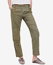 Free People Utility Boyfriend Pants