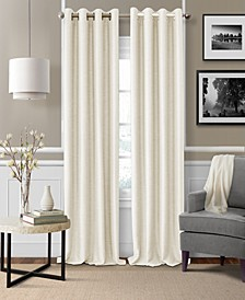 "Brooke 52"" x 108"" Faux-Silk Blackout Grommet Curtain Panel"