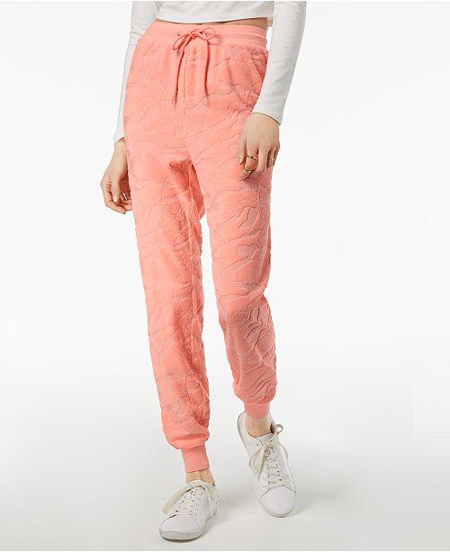 Burnout Impatiens Up The Warm Jessica Pants Pink Terry Jogger Simpson Juniors' xCqX4zt