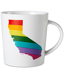 Pfaltzgraff CA Rainbow Mug, Created for Macy's