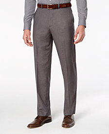 Dockers Men's  Stretch Straight-Fit  Signature Performance Flat Front Dress Pants