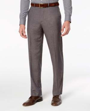Dockers Men's Stretch Straight-Fit Signature Performance Flat Front Dress Pants