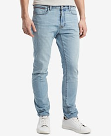 Tommy Hilfiger Men's Slim-Fit Stretch Tapered Denim Jeans, Created for Macy's