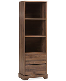 Burnwood Bookcase, Quick Ship