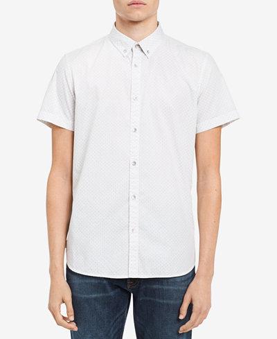 Calvin Klein Jeans Men's Big & Tall Medallion Shirt