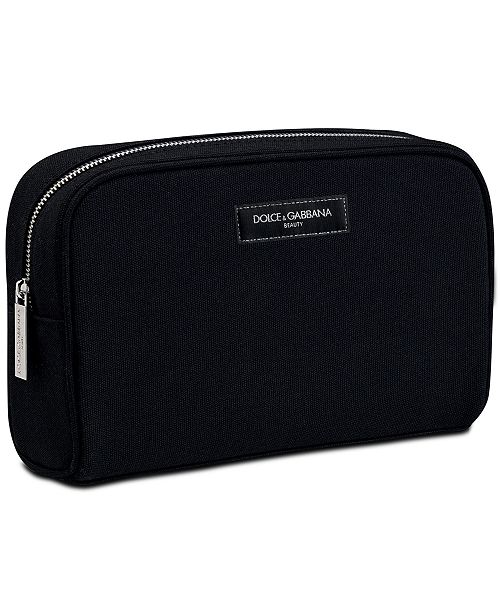 Dolce & Gabbana Receive a Complimentary Pouch with any large spray purchase from the DOLCE&GABBANA Men's fragrance collection