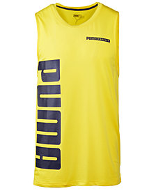 Puma Men's Logo Tank Top