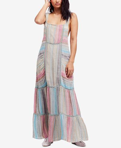 Free People Anika Striped Maxi Dress