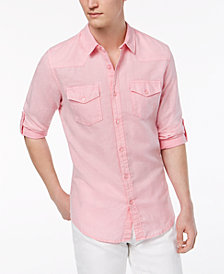 GUESS Men's Walker Western Shirt