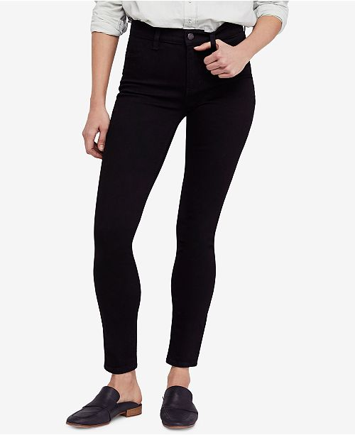 5863dc547ce9 Free People High-Rise Long and Lean   Reviews - Jeans - Women ...