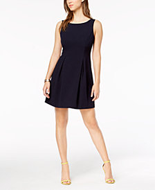 Jessica Howard Petite Bow-Back Dress