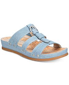 Bare Traps Cella Memory Foam Slip-On Sandals