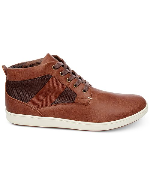 f839f681efd Steve Madden Men s Frazier High-Top Sneakers   Reviews - All Men s ...
