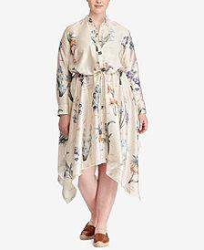 Lauren Ralph Lauren Plus Size Twill Shirtdress
