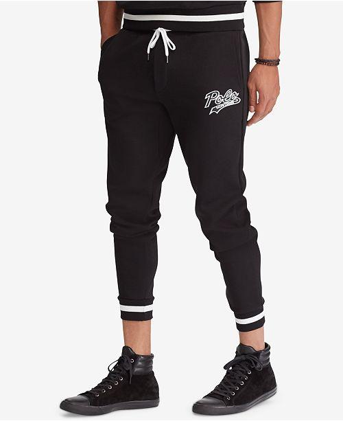 7dfc7f7c24d Polo Ralph Lauren Men s Double-Knit Graphic Jogger Pants   Reviews ...