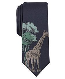 Bar III Men's Safari Giraffe Tie, Created for Macy's