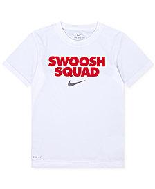 Nike Graphic-Print Dri-FIT T-Shirt, Little Boys