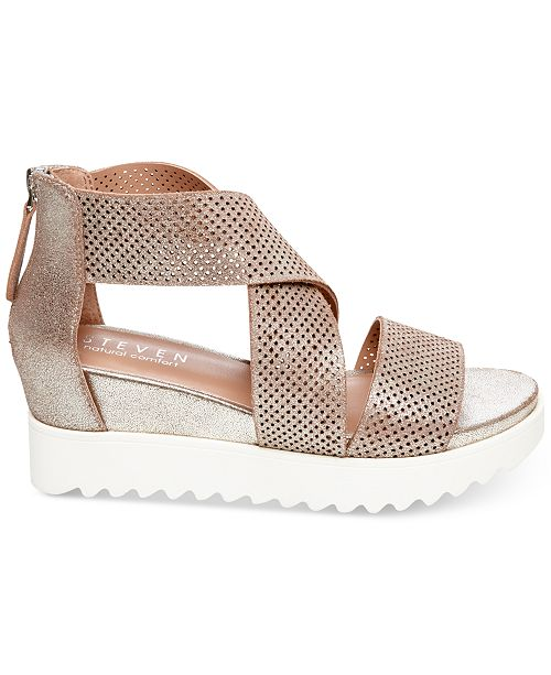 5d846384770 STEVEN by Steve Madden Klein Wedge Sandals   Reviews - Sandals ...