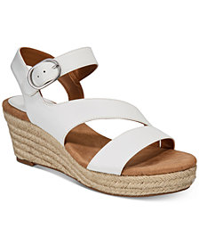 Style & Co Women's Xenaa Platform Espadrille Wedge Sandals, Created for Macy's