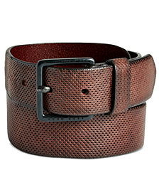 Hugo Boss Men's Perforated Leather Belt
