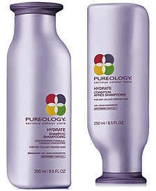 Hydrate Shampoo & Conditioner (Two Items), 8.5-oz., from PUREBEAUTY Salon & Spa