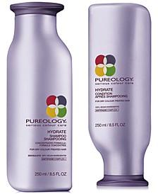 Hydrate Shampoo & Conditioner (Two Items), 8.5-oz., from PUREBEAUTY Salon & Spa
