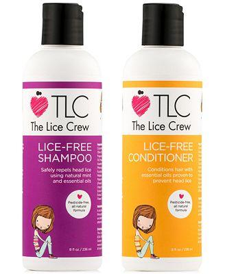 The Lice Crew Lice-Free Shampoo & Conditioner (Two Items), 8-oz., from PUREBEAUTY Salon & Spa