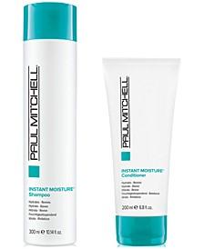 Instant Moisture Shampoo, 10.14-oz. & Conditioner, 6.8-oz. (Two Items), from PUREBEAUTY Salon & Spa