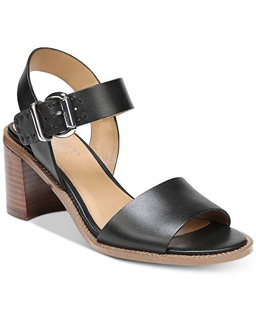 Franco Sarto Havana Block-Heel Dress Sandals Women's Shoes 5zB2rzp