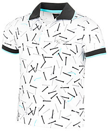Greg Norman for Tasso Elba Kids' Printed Polo, Created for Macy's