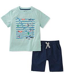 Nautica 2-Pc. Graphic-Print T-Shirt & Shorts Set, Baby Boys