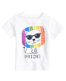First Impressions Pride Graphic-Print Cotton T-Shirt, Baby Boys, Created for Macy's