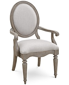 Elina Upholstered Armchair, Created for Macy's
