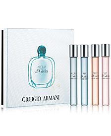 Giorgio Armani 4-Pc. Acqua di Gioia Fragrance Pen Gift Set