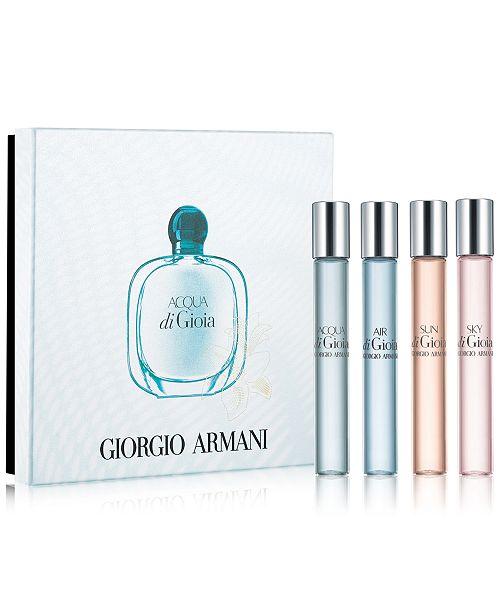 Giorgio Armani 4 Pc Acqua Di Gioia Fragrance Pen Gift Set