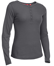 EMS® Women's Lakeside Thermal Waffle-Knit Henley