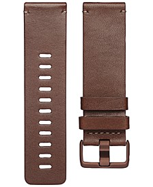 Versa™ Cognac Horween Leather Accessory Band