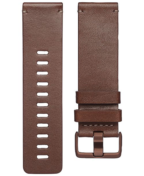 Fitbit Versa™ Cognac Horween Leather Accessory Band
