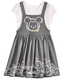 Disney's® Minnie Mouse Tsum Tsum Jumper Dress, Little Girls