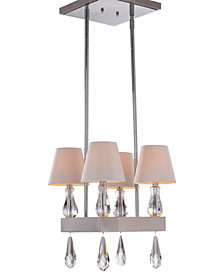Zeev Lighting Sophia 4-Light Mini Chandelier