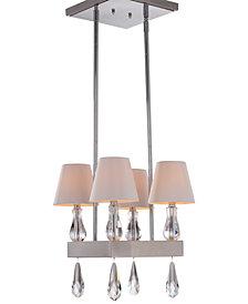 Zeev Lighting Sophia 4-Light Mini Chandelier