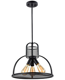 Zeev Lighting Canton 3-Light Pendant