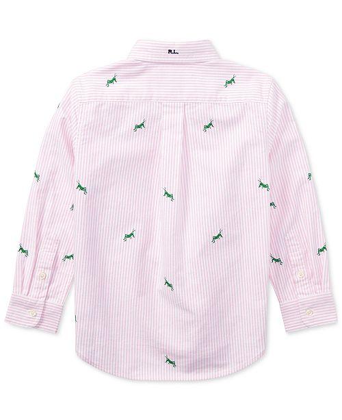 4c582fe74 Polo Ralph Lauren Embroidered Cotton Shirt