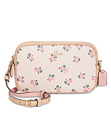 COACH Boxed Mini Crossbody Clutch with Floral Bloom