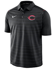 Nike Men's Cincinnati Reds Stripe Polo