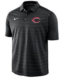 Nike Men's Cincinnati Reds Stripe Polo