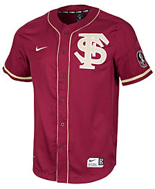 Nike Men's Florida State Seminoles Replica Baseball Jersey